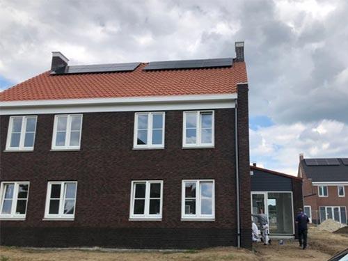 Afbeelding van een opleveringskeuring van een nieuwbouw woning