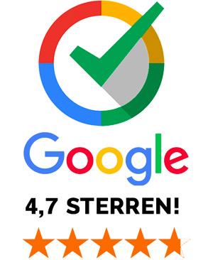 Review logo van Huiskeur op Google